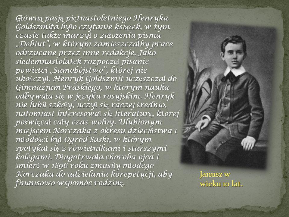 W roku 1896 opublikowa ł w tygodniku satyrycznym Kolce swoj ą humoresk ę pt.