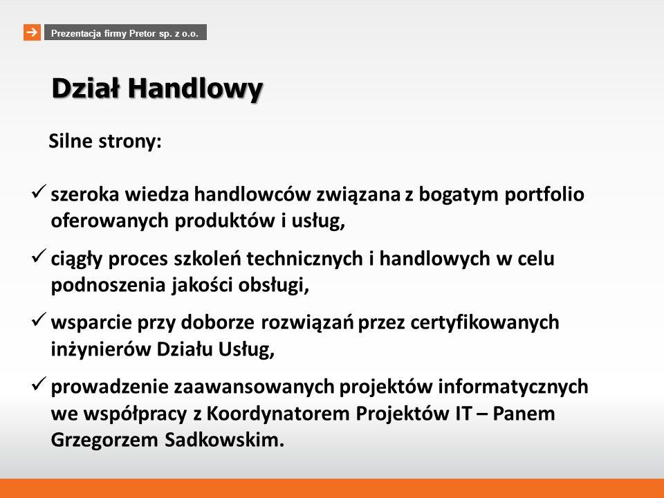 www.pretor.pl Dwa prestiżowe wyróżnienia otrzymane na przełomie 2012/2013 DIAMENTY MIESIĘCZNIKA FORBES w rankingu firm najszybciej zwiększających swoja wartość GAZELE BIZNESU w rankingu najdynamiczniej rozwijających się firm Prezentacja firmy Pretor sp.