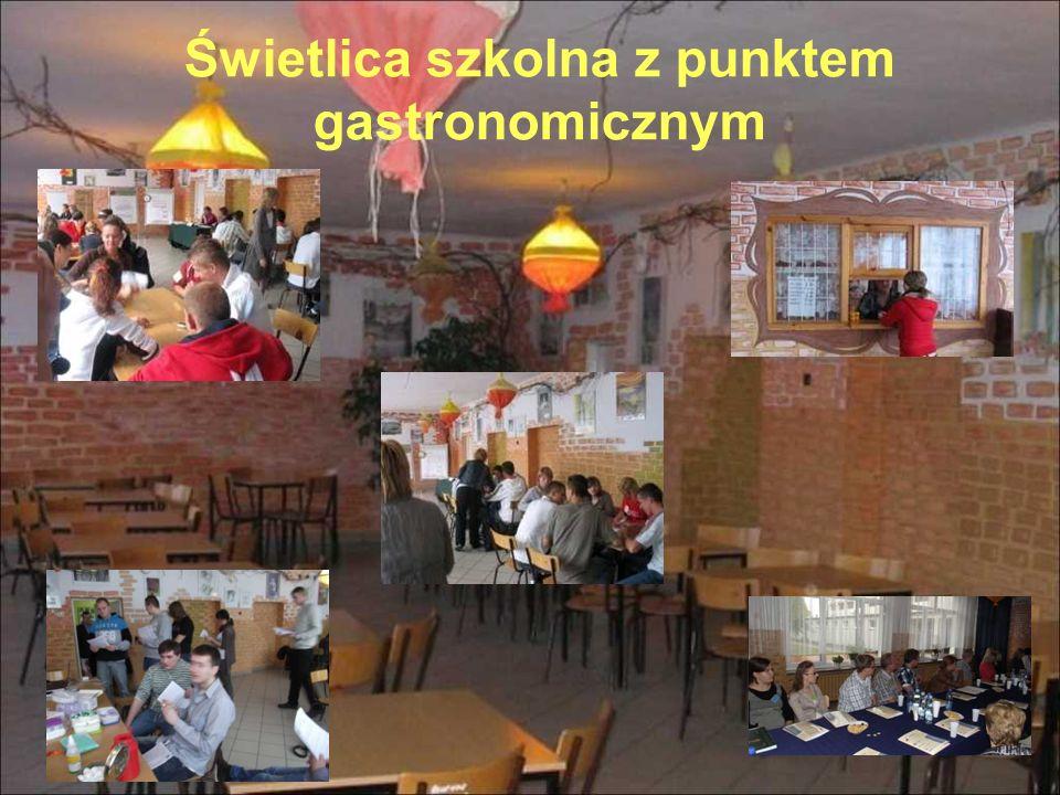 Świetlica szkolna z punktem gastronomicznym