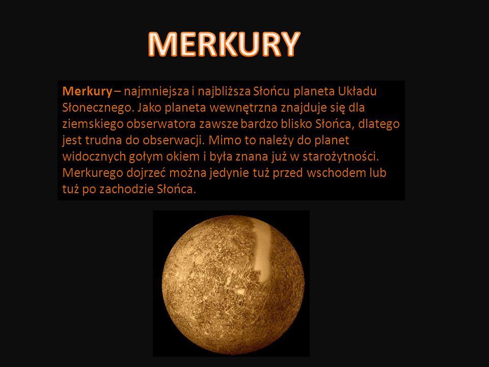 Wenus – druga pod względem odległości od Słońca planeta Układu Słonecznego.