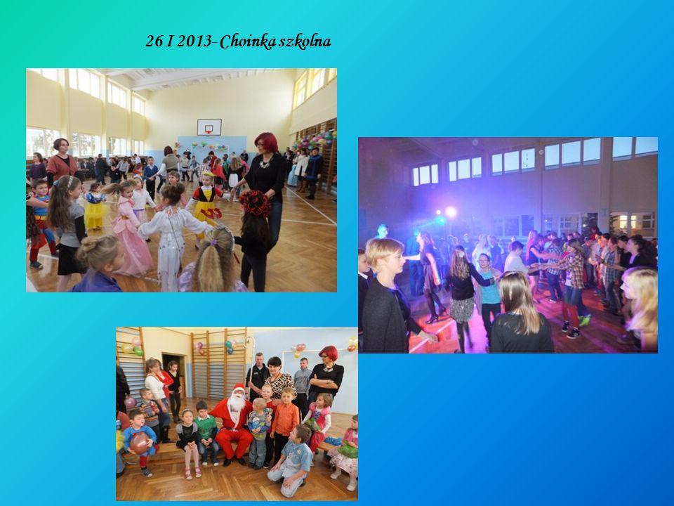 26 I 2013- Choinka szkolna