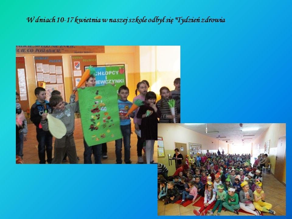 W dniach 10-17 kwietnia w naszej szkole odbył się