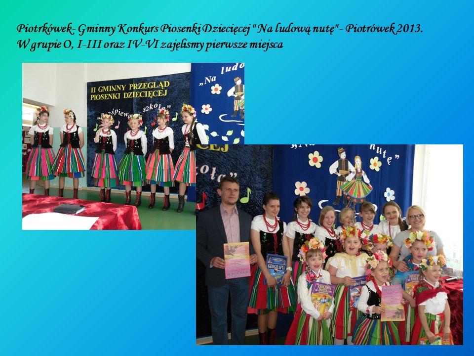 Piotrkówek- Gminny Konkurs Piosenki Dziecięcej