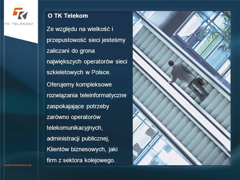 Ze względu na wielkość i przepustowość sieci jesteśmy zaliczani do grona największych operatorów sieci szkieletowych w Polsce. Oferujemy kompleksowe r
