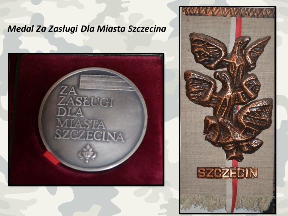 Medal Za Zasługi Dla Miasta Szczecina