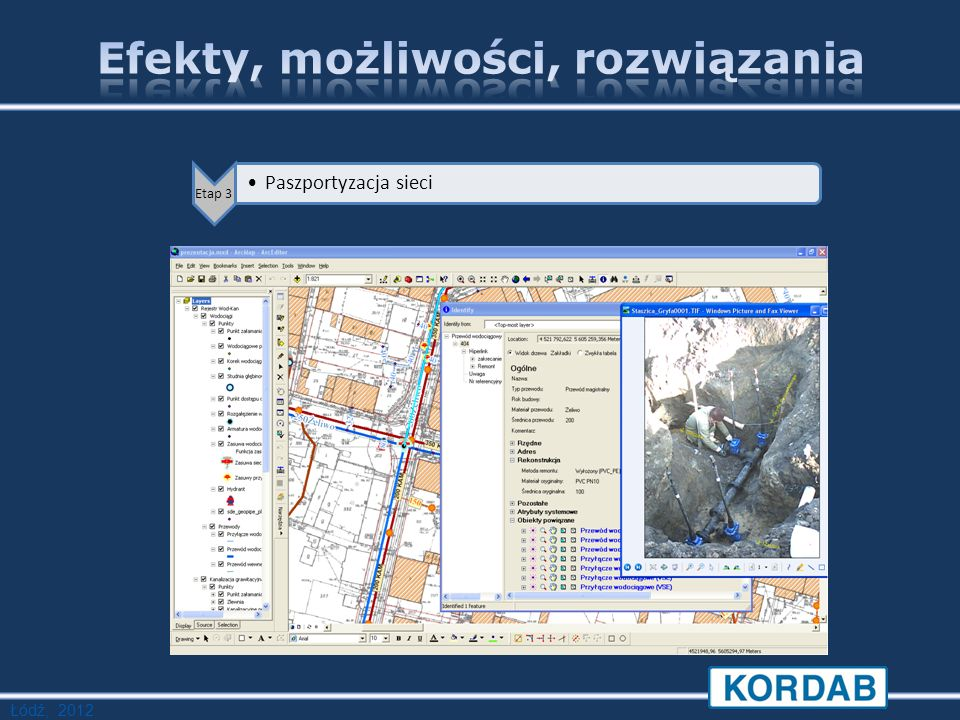 Łódź, 2012 Etap 3 Paszportyzacja sieci