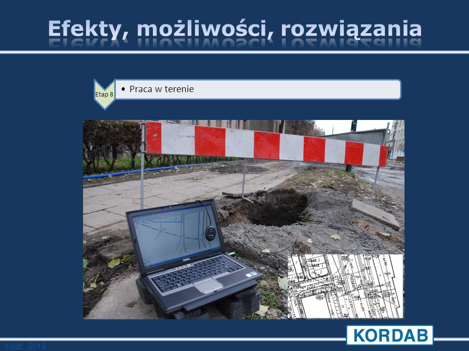 Łódź, 2012 Etap 8 Praca w terenie