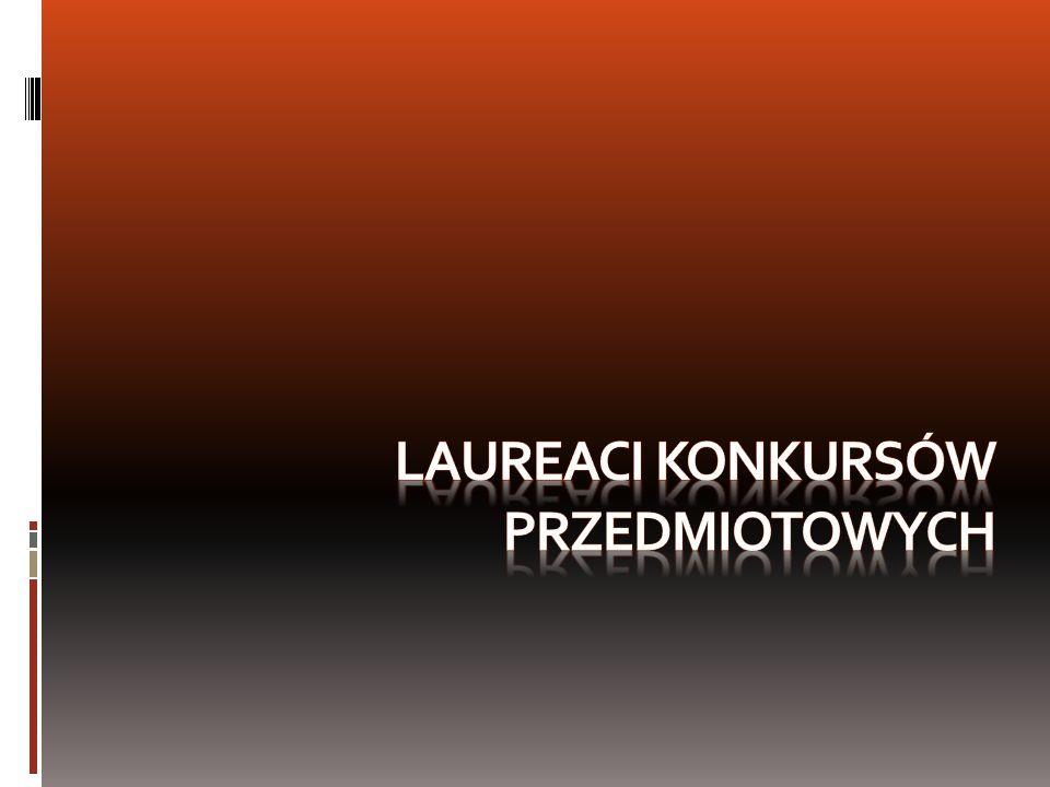 Opiekunowie: A. Żybort M. Gałas