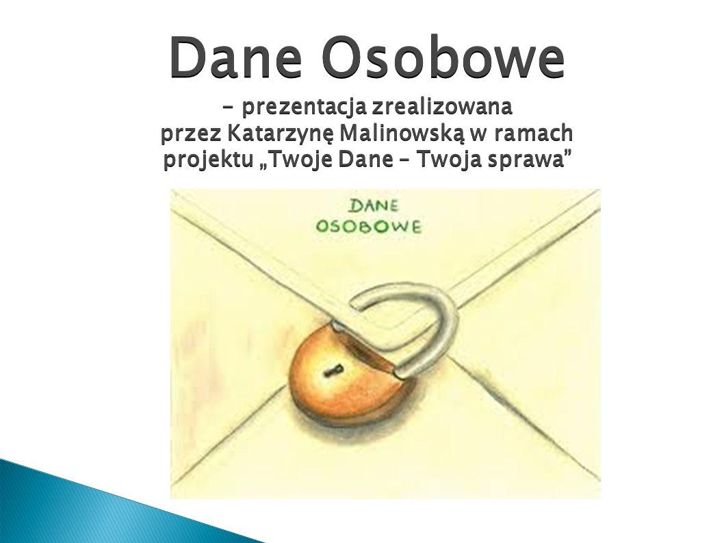 Dane osobowe – termin prawny, który w prawie polskim został zdefiniowany w ustawie z dnia 29 sierpnia 1997 roku o ochronie danych osobowych.