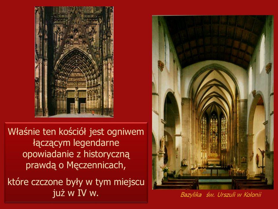 Właśnie ten kościół jest ogniwem łączącym legendarne opowiadanie z historyczną prawdą o Męczennicach, które czczone były w tym miejscu już w IV w. Wła