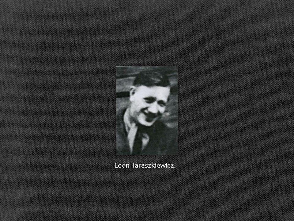 Leon Taraszkiewicz.
