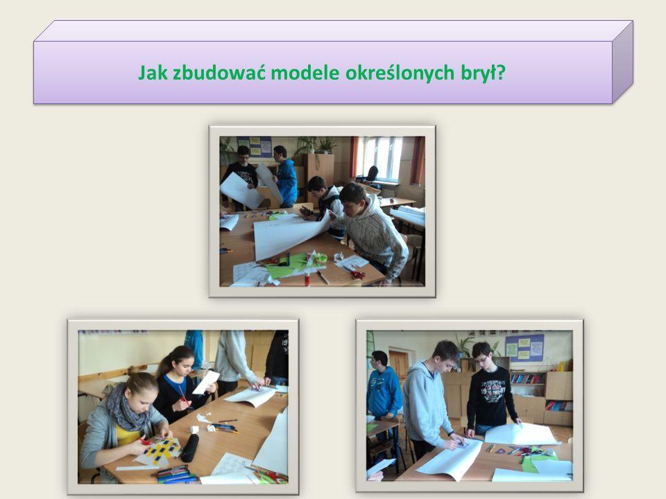 Jak zbudować modele określonych brył?
