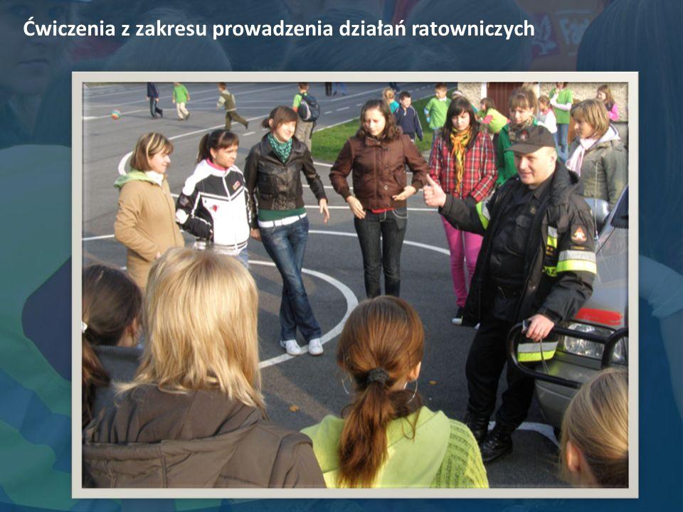 Ćwiczenia z zakresu prowadzenia działań ratowniczych