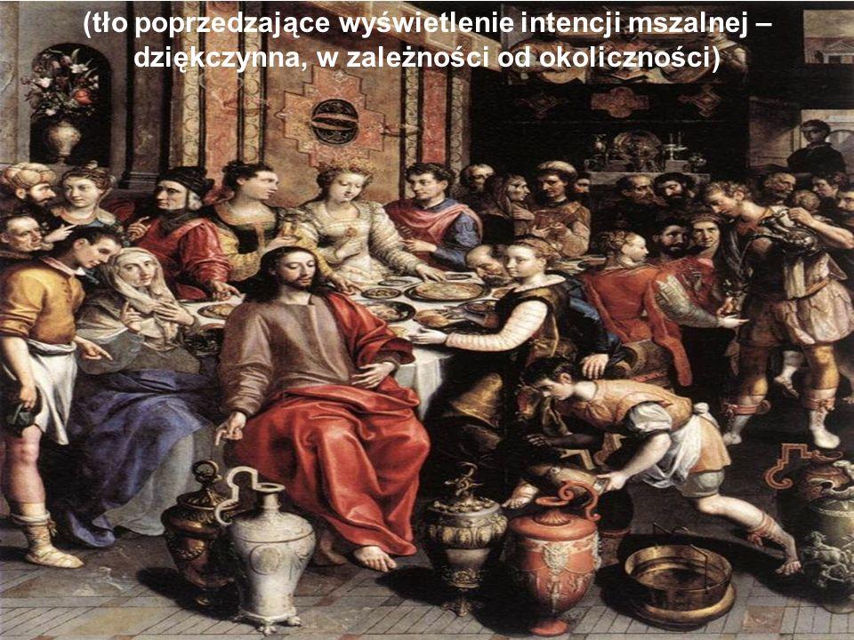 (obrazek przed mszą świętą – nawiązanie do roku wiary