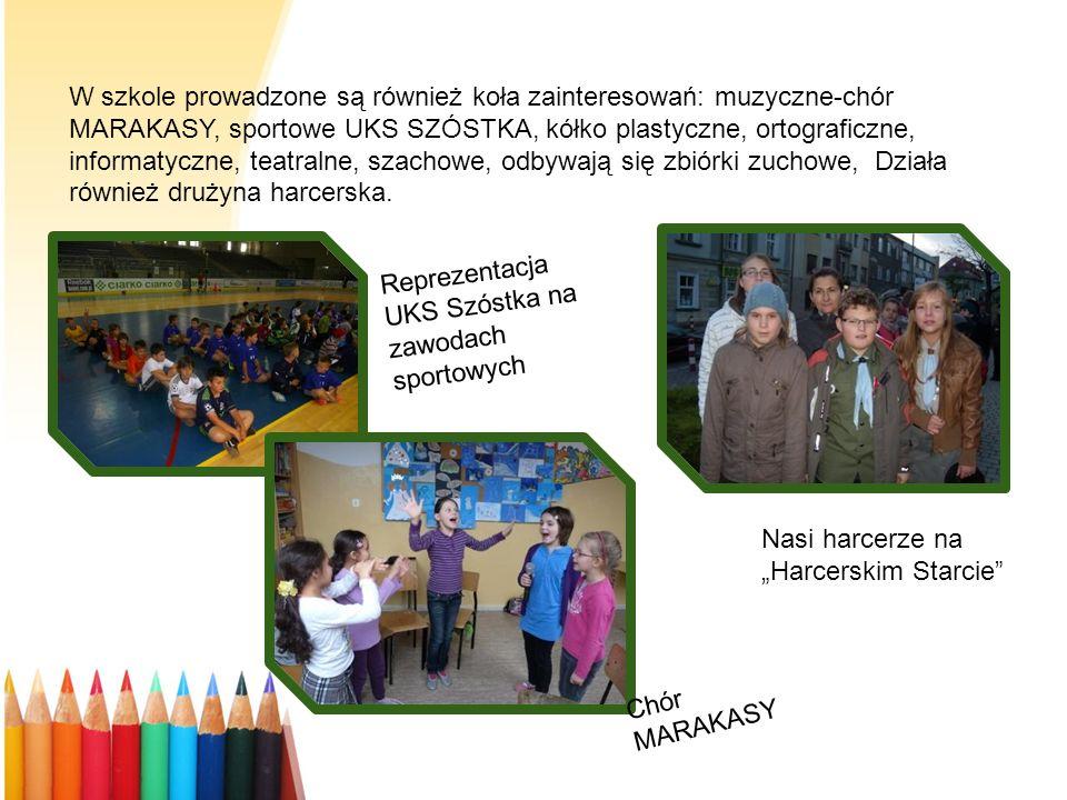 Prezentujemy swoje umiejętności Nasi uczniowie prezentują swoje umiejętności w licznych konkursach organizowanych na szczeblu szkolnym i międzyszkolnym, podczas imprez uroczystości organizowanych w szkole i na terenie miasta oraz podczas Tygodnia Ekologii.