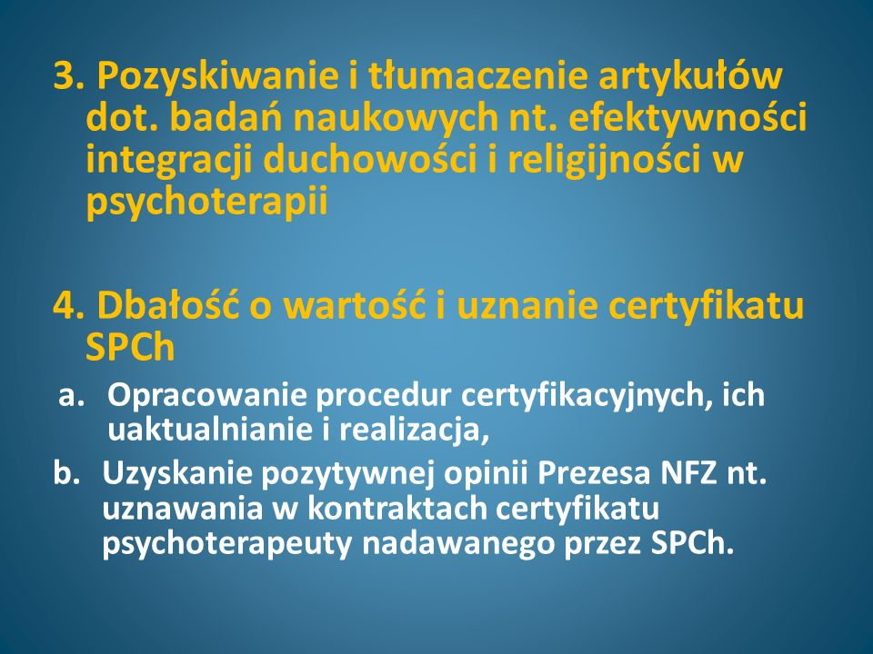 3. Pozyskiwanie i tłumaczenie artykułów dot. badań naukowych nt.