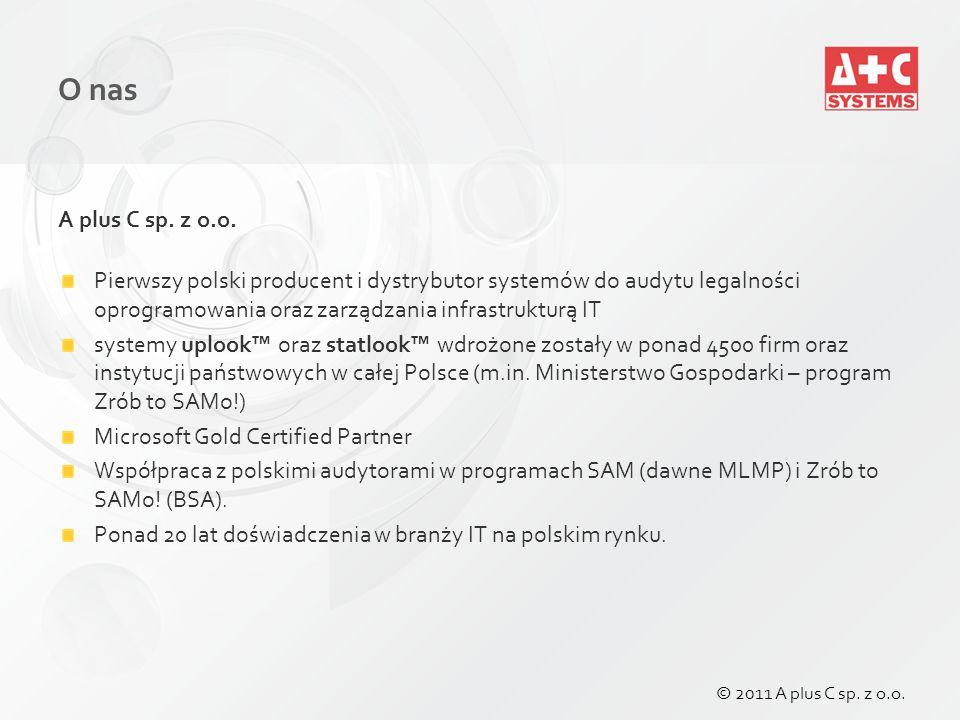 Nadawanie uprawnień do użytkowania nośników wymiennych – per user © 2011 A plus C sp. z o.o.