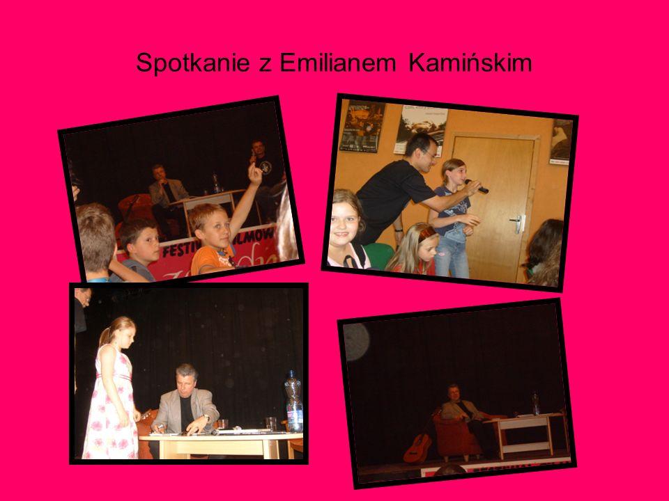 Spotkanie z Emilianem Kamińskim