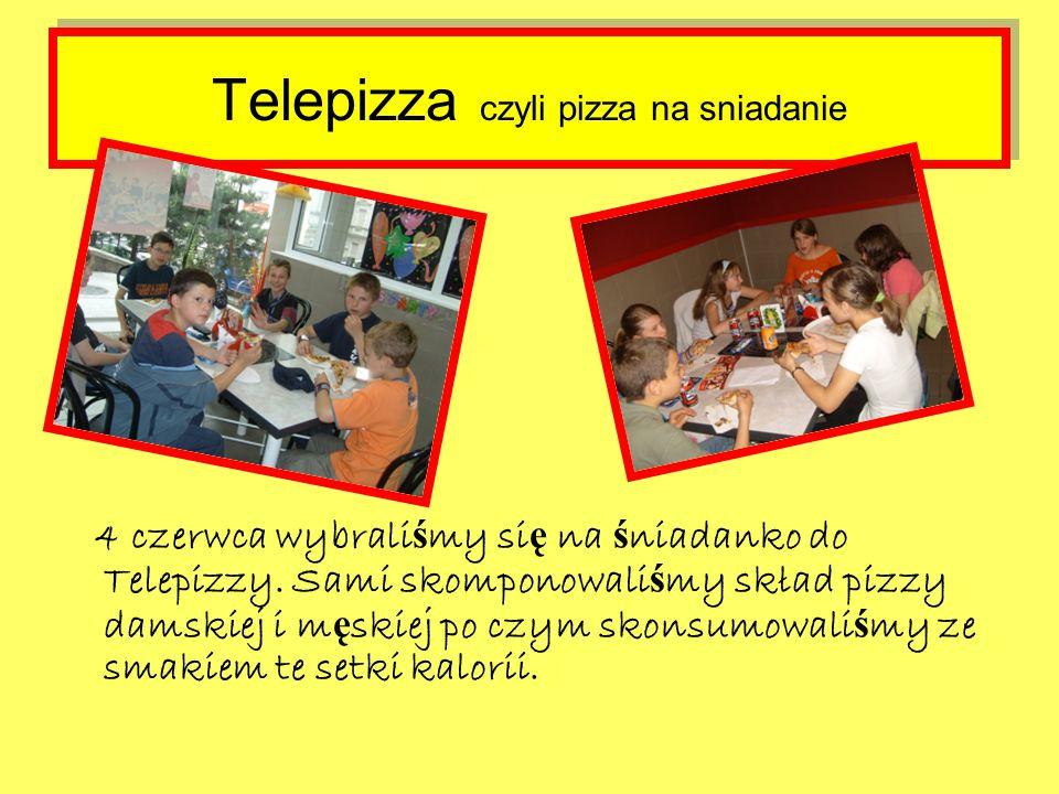 Telepizza czyli pizza na sniadanie 4 czerwca wybrali ś my si ę na ś niadanko do Telepizzy.