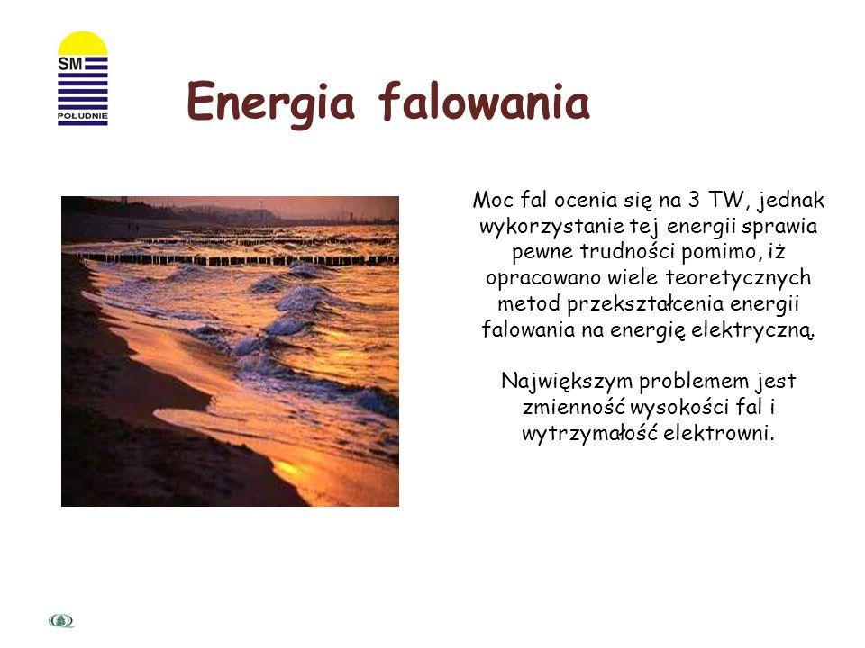 Pływy są źródłem energii o mniejszym potencjale) niż prądy morskie, ale za to bezpieczniejszym i lepiej poznanym. Pierwszą elektrownię pływową zbudowa