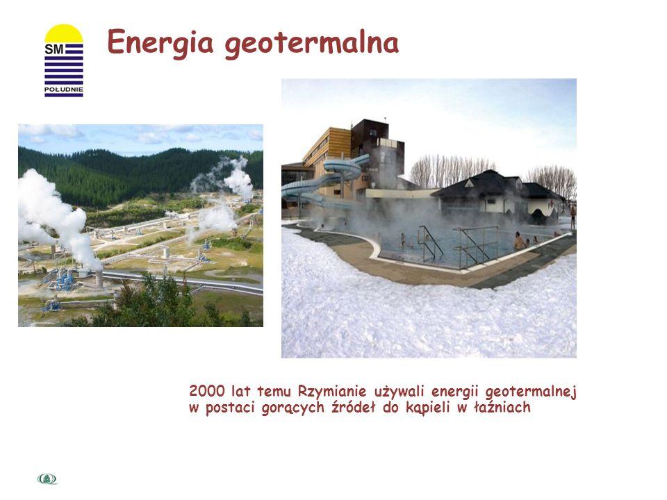 Energia geotermiczna - to naturalne ciepło wnętrza Ziemi zgromadzone w gorących skalach, parach wodnych i wodach wypełniających szczeliny skalne. We w