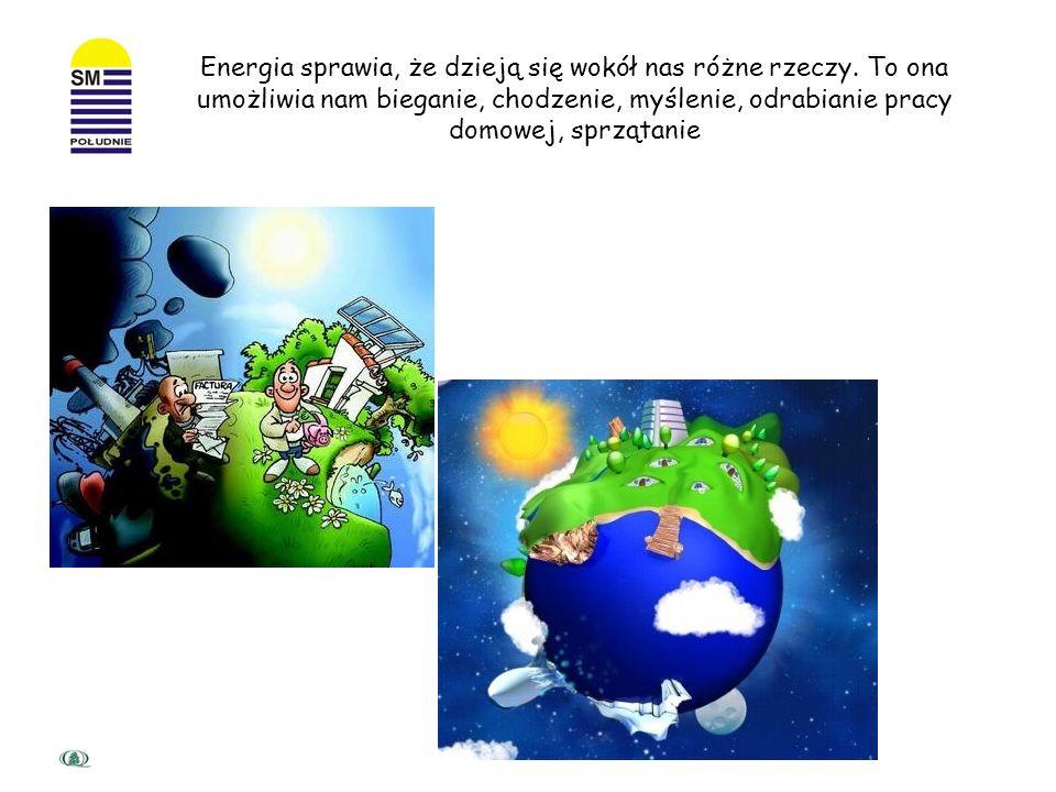 Lista rzeczy do których potrzebujemy energii jest bardzo długa… Energię można określić jako zdolność do wykonywanie pewnej pracy Racjonalne gospodarow