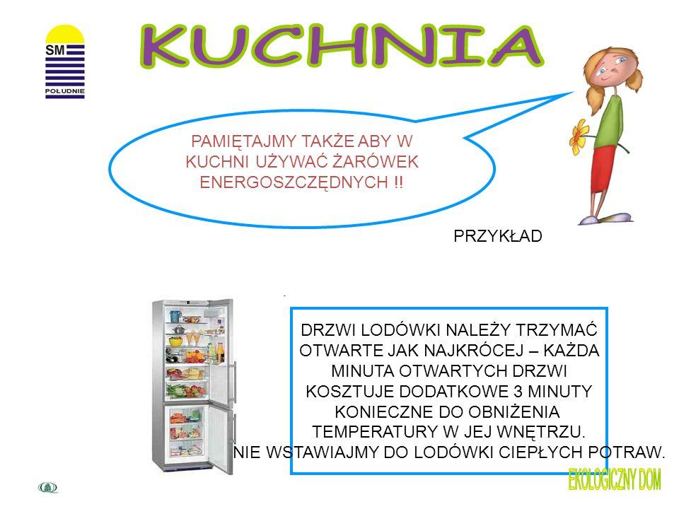 Unikaj !!! -stawiania lodówki blisko ciepłych miejsc np. kuchenki, piekarnika czy miejsca nasłonecznienia - wkładania do środka rozgrzanych potraw