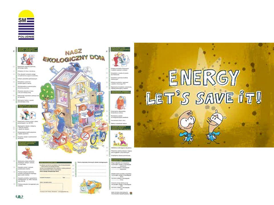 Energooszczędne świetlówki Pobierają 5 razy mniej energii, w przeciwieństwie do zwykłych żarówek są trwalsze.