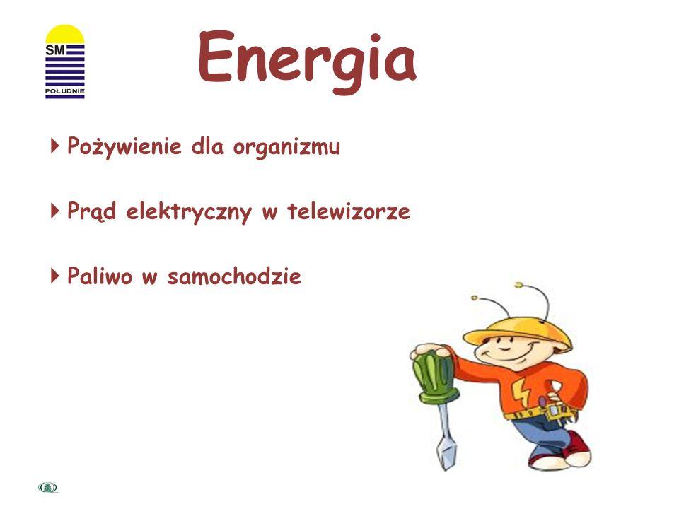 Z CZYM KOJARZY SIĘ WAM POJĘCIE ENERGIA?
