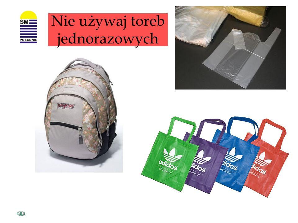 Kupuj produkty w opakowaniach wielokrotnego użytku