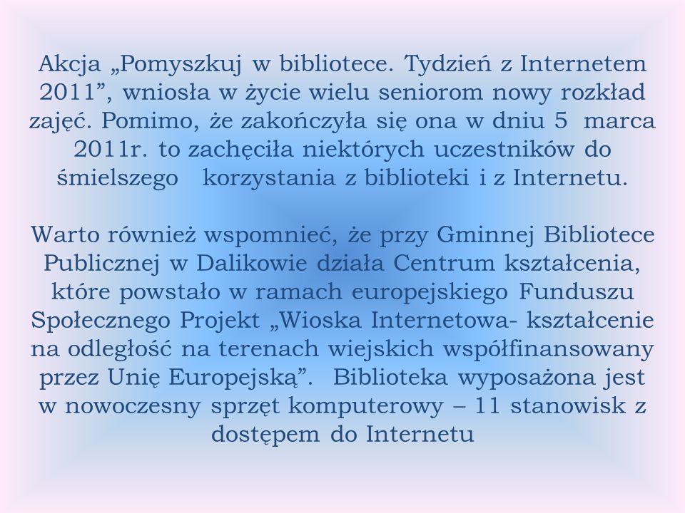 Akcja Pomyszkuj w bibliotece.