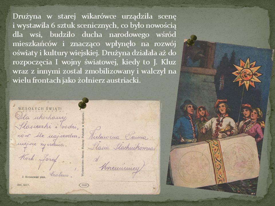 Razem otrzymał Józef Kluz 10 lat więzienia, z czego 5 lat darowano na mocy amnestii z 1947 roku.