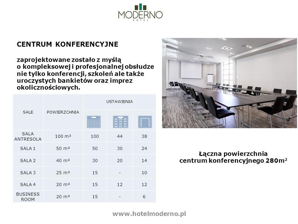CENTRUM KONFERENCYJNE zaprojektowane zostało z myślą o kompleksowej i profesjonalnej obsłudze nie tylko konferencji, szkoleń ale także uroczystych ban
