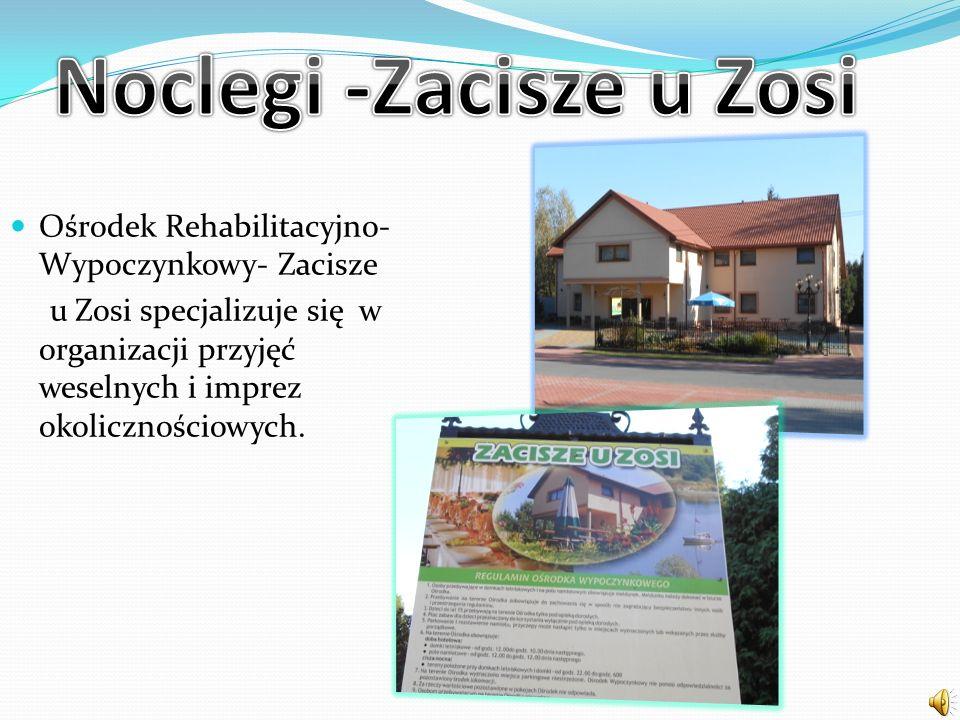 Ośrodek Rehabilitacyjno- Wypoczynkowy- Zacisze u Zosi specjalizuje się w organizacji przyjęć weselnych i imprez okolicznościowych.