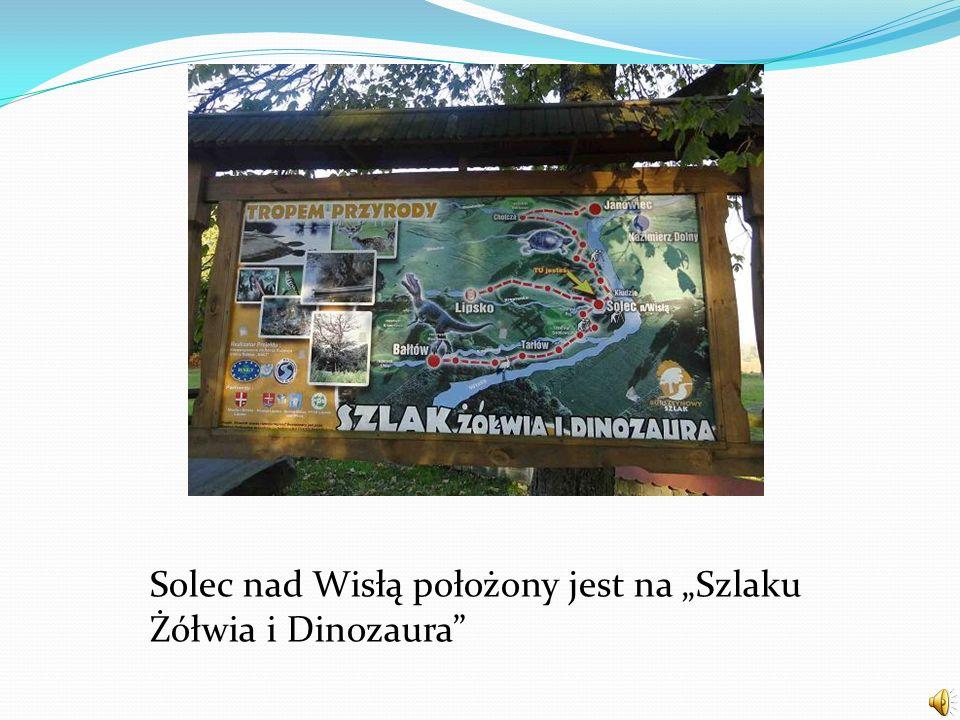 Solec nad Wisłą położony jest na Szlaku Żółwia i Dinozaura