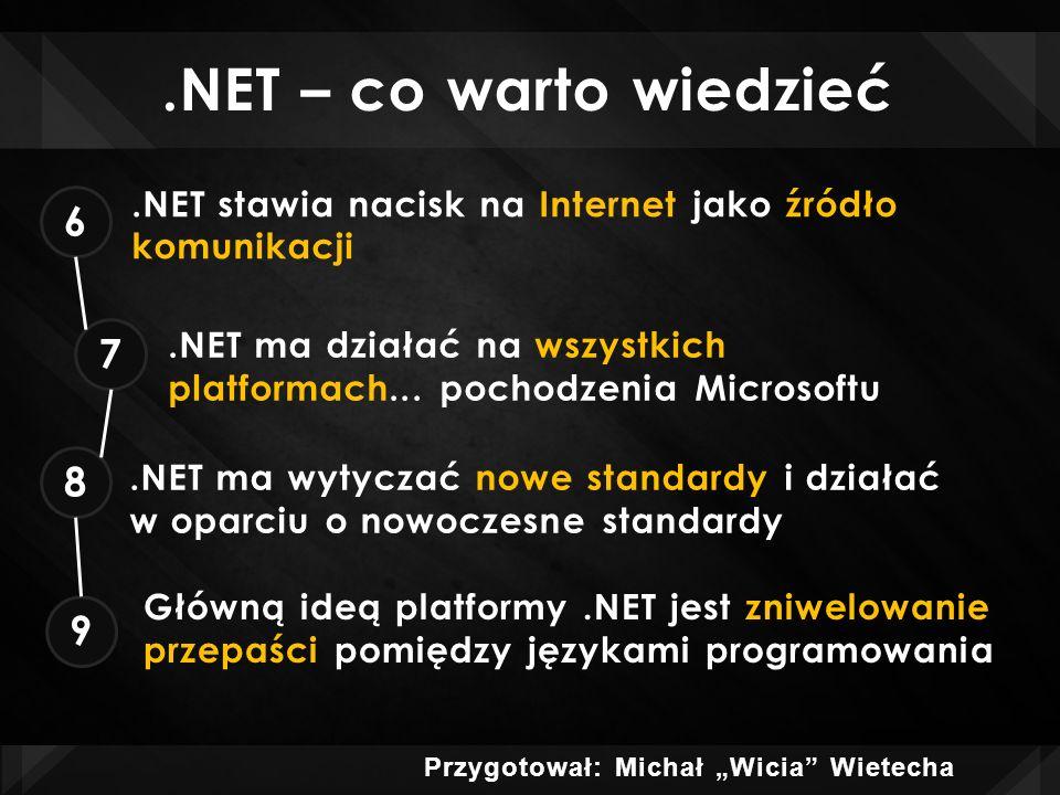 .NET FRAMEWORK co to jest?