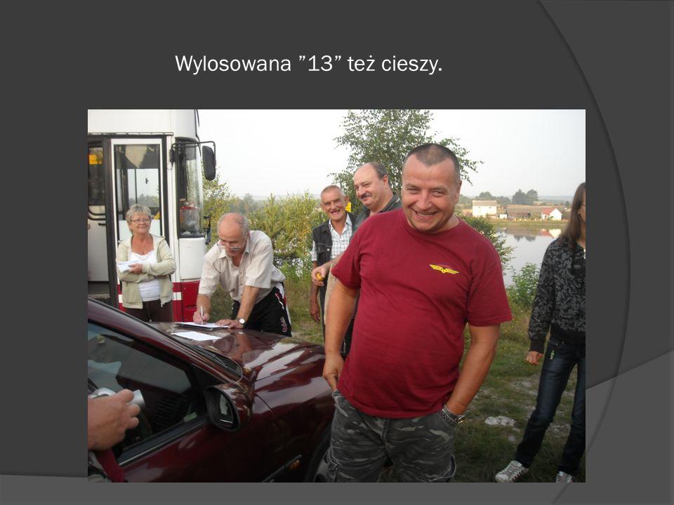 Nad prawidłowym przebiegiem losowania jak zawsze czuwał Wojciech i jego czujne oko.