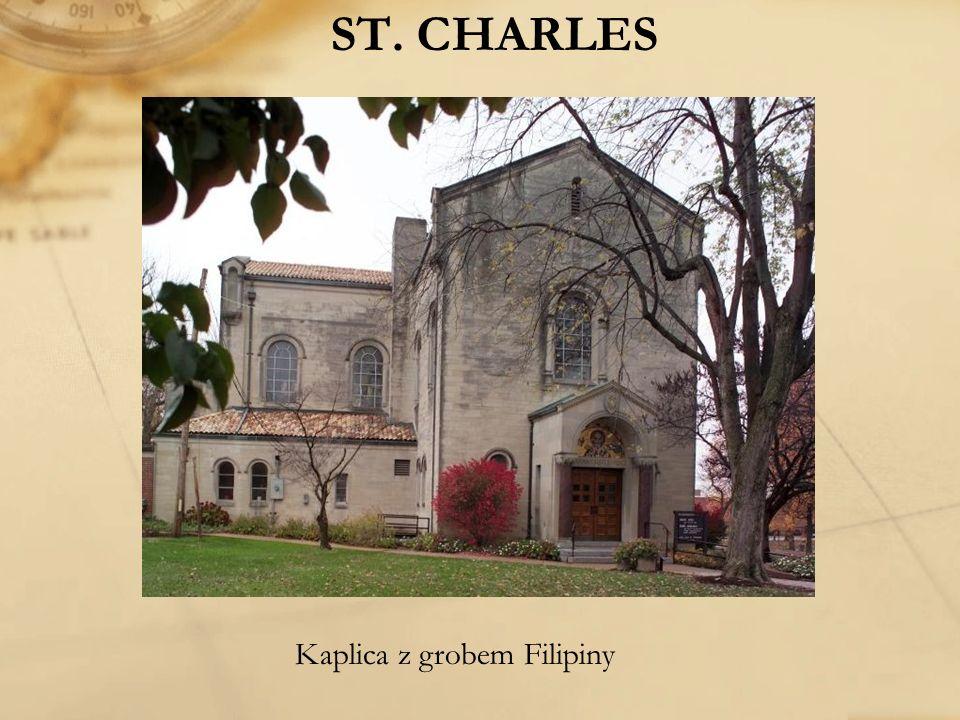 ST. CHARLES Kaplica z grobem Filipiny