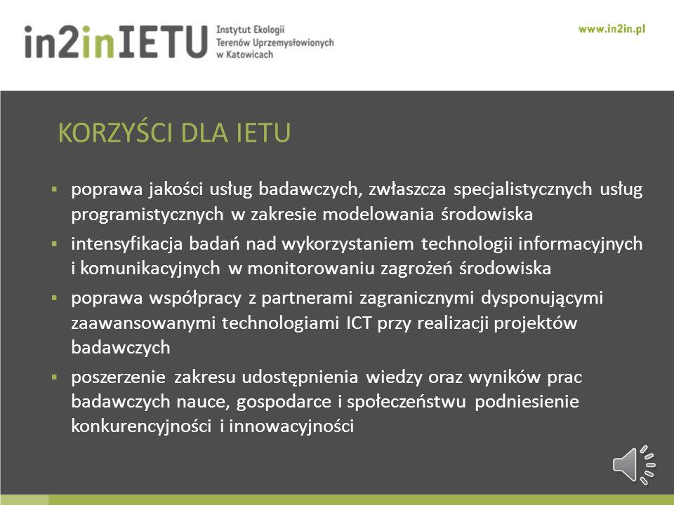 Zespół informatyków wykonywał będzie wszystkie prace informatyczne przewidziane w projekcie, wliczając w to zarówno budowę zaawansowanych systemów ICT