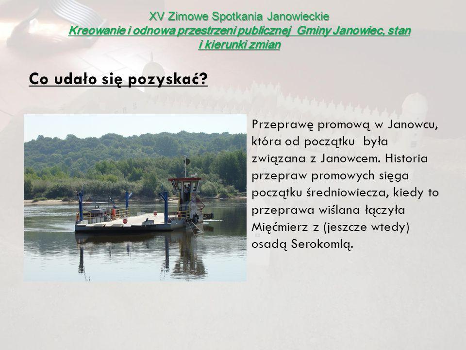 XV Zimowe Spotkania Janowieckie Kreowanie i odnowa przestrzeni publicznej Gminy Janowiec, stan i kierunki zmian Budynek Ośrodka Zdrowia w Janowcu wraz z działką.
