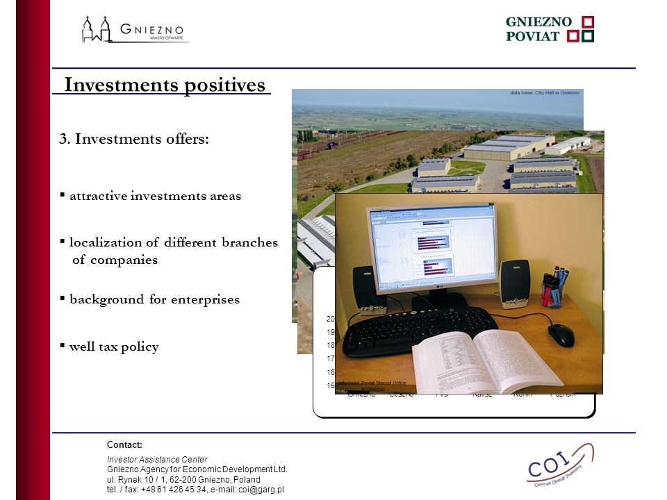 attractive investments areas 3.