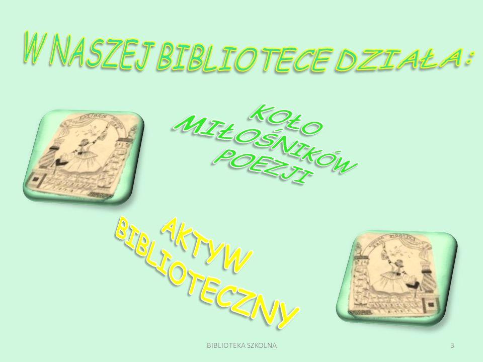13BIBLIOTEKA SZKOLNA