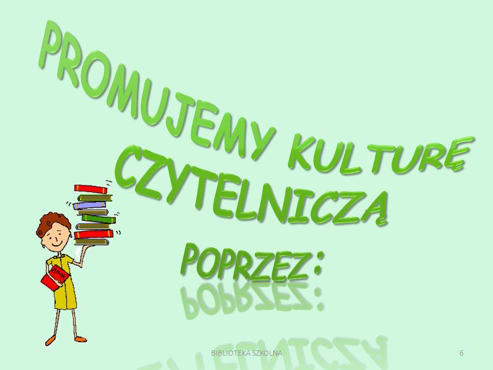 5 dobrowolnie i aktywnie uczestnicząca w pracy biblioteki zainteresowana książkami, czytelnictwem oraz działalnością biblioteki współpracująca z biblioteką od 2003 r.
