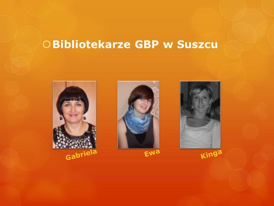 Bibliotekarze GBP w Suszcu Gabriela Kinga Ewa