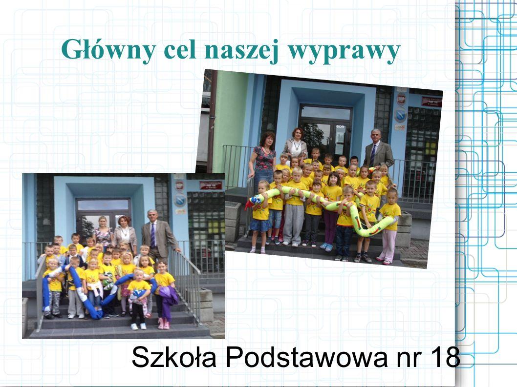 Główny cel naszej wyprawy Szkoła Podstawowa nr 18