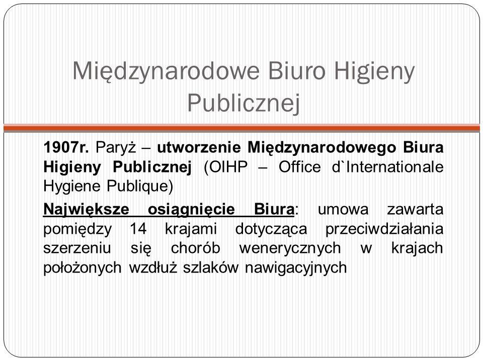 60 lat WHO: chronologia najważniejszych wydarzeń w sferze zdrowia publicznego 2005: Powołanie Komisji ws.