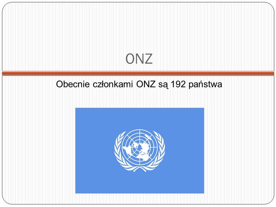 ONZ - historia Organizacja Narodów Zjednoczonych (ang.
