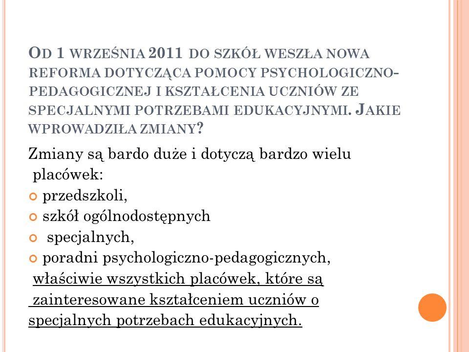 N A CZYM POLEGA POMOC PEDAGOGICZNO - PSYCHOLOGICZNA .