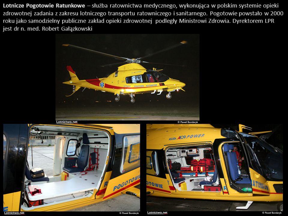 Lotnicze Pogotowie Ratunkowe – służba ratownictwa medycznego, wykonująca w polskim systemie opieki zdrowotnej zadania z zakresu lotniczego transportu