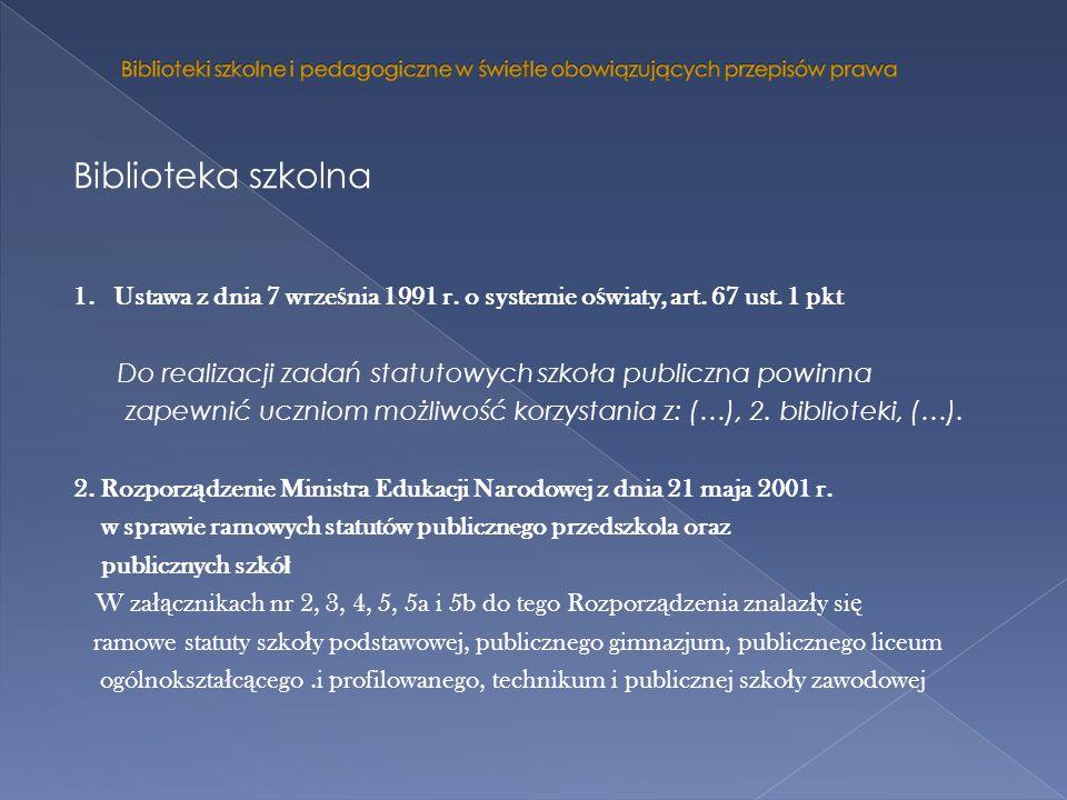 3.Rozporz ą dzenie Ministra Edukacji Narodowej z 12 marca 2009 r.
